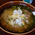 釜あげちりめん丼(スープ丼)